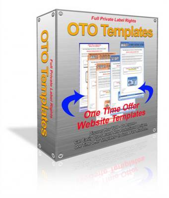 Product picture 5 OTO (One Time Offer) Templates PLR Included