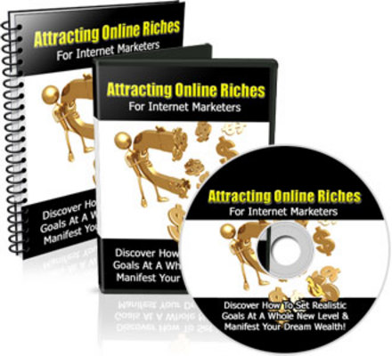 Product picture Attracting Online Riches For Internet Marketers + MRR