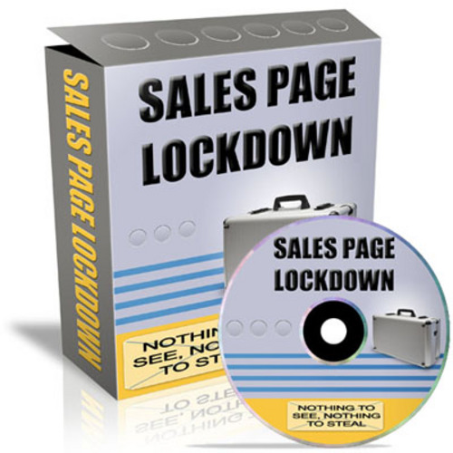 Product picture Sales Page Lockdown With Private Labels Rights