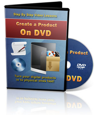 Product picture Create a Physical Product on DVD using Kunaki