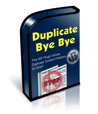 Product picture Duplicate Bye Bye With Master Resale Rights