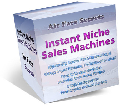 Product picture My Air Fare Secrets Site Review