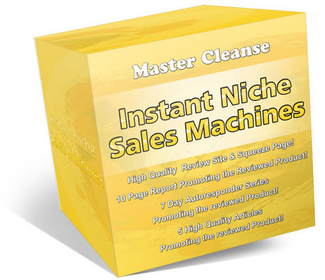 Product picture Master Cleanse Secrets Ready Made Review Sites